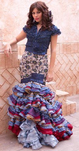 Traje de flamenca modernos