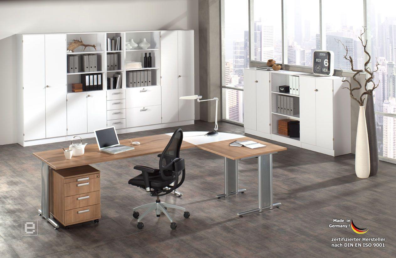 Groß Büromöbel Nussbaum Bilder - Die Schlafzimmerideen - kruloei.info