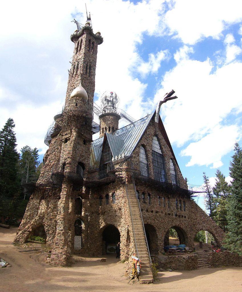 Bishop's Castle in Colorado (San Isabel National Forest)... One of my favorite places back home!