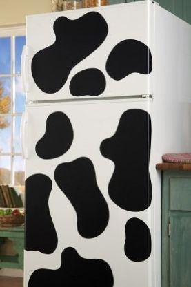 Cow Spot Removable Vinyl Decals   Could Put Them On A Car!