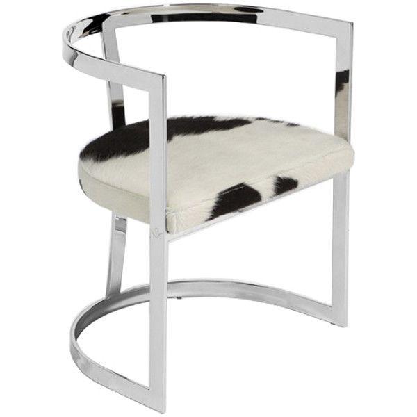 Super Interlude Home Aubrey Hide Chair Products Chair Creativecarmelina Interior Chair Design Creativecarmelinacom