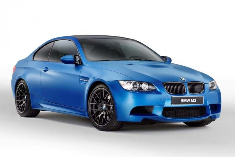 BMW M3 Coupe Frozen 01