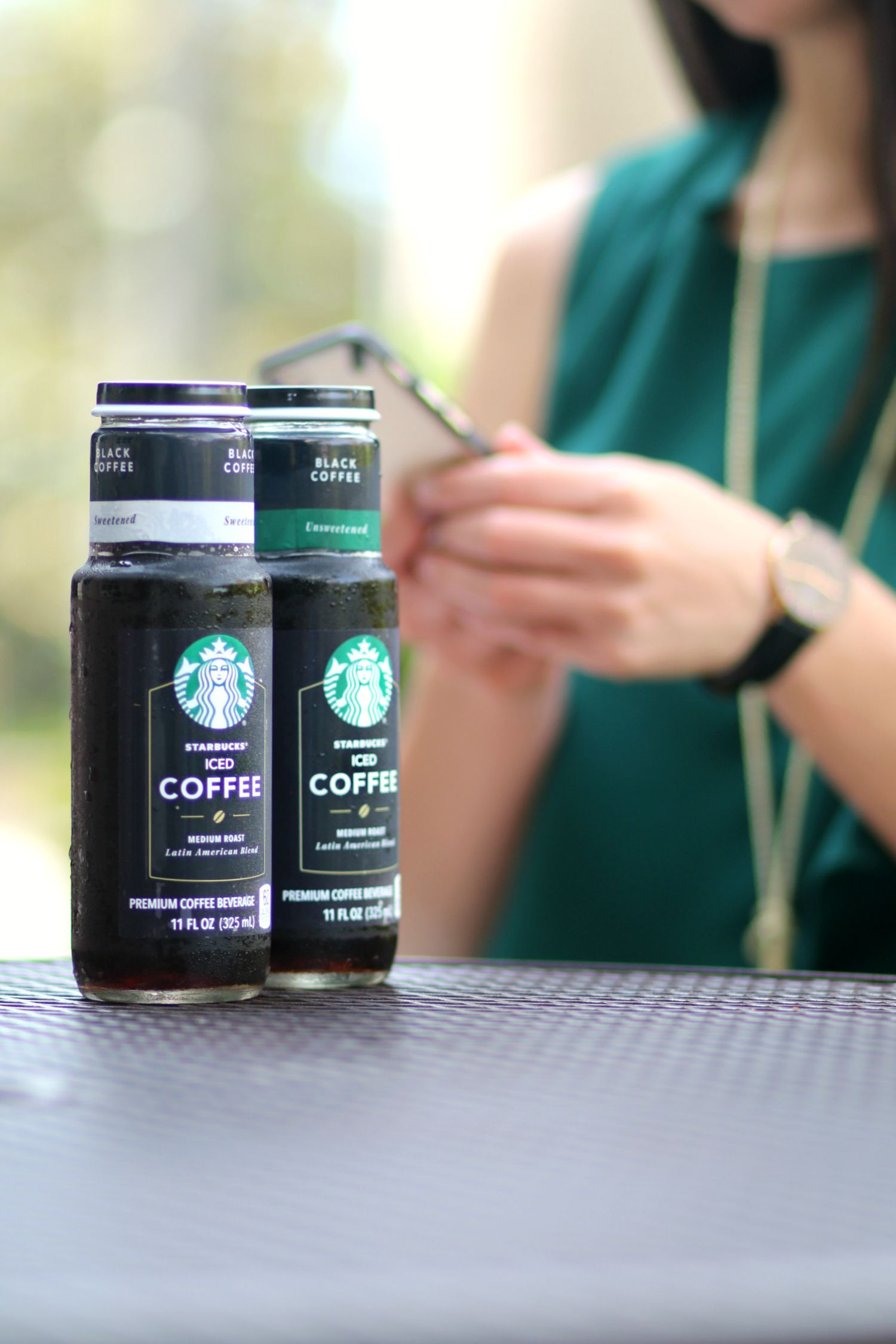 how to make starbucks iced coffee sweet