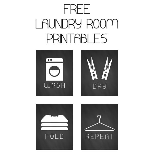 Free set of laundry art prints | Laundry | Laundry room