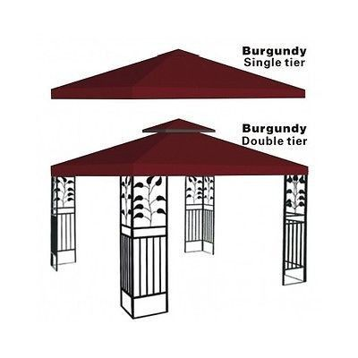 Gazebo Pergola Replacement Patio Gazebos Canopy Outdoor Metal Tent Garden Cover  sc 1 st  Pinterest & Gazebo Pergola Replacement Patio Gazebos Canopy Outdoor Metal Tent ...