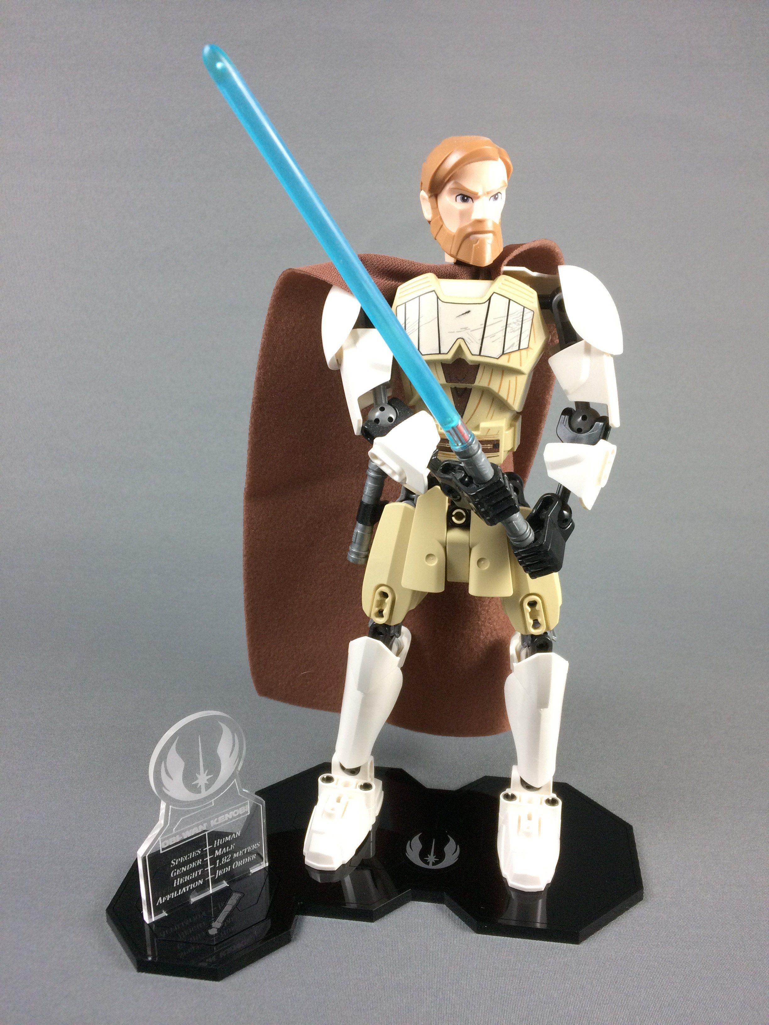 LEGO Obi-Wan Kenobi Star Wars Buildable Figure HEAD ONLY
