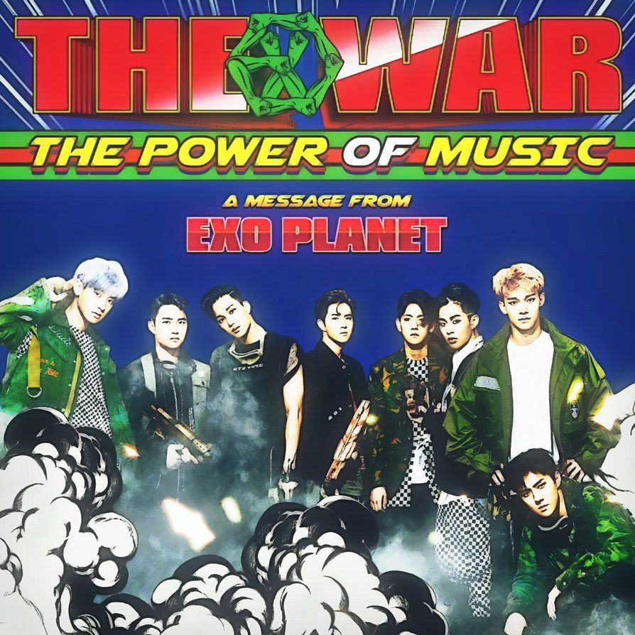 Exo Christmas Album Cover.Exo Power The War The Power Of Music Album Cover By