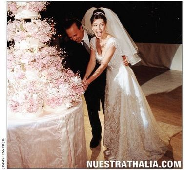 Jenni Rivera Wedding Cake