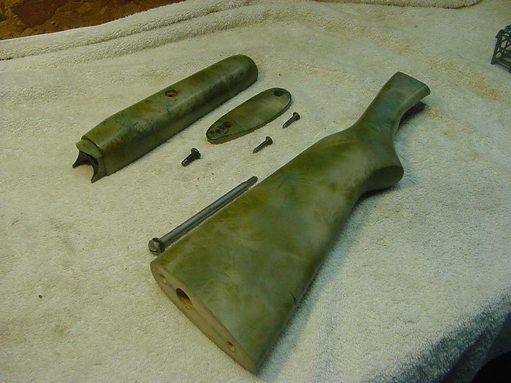 savage stevens model 94 p 12 gauge shotgun stock set gun parts 3