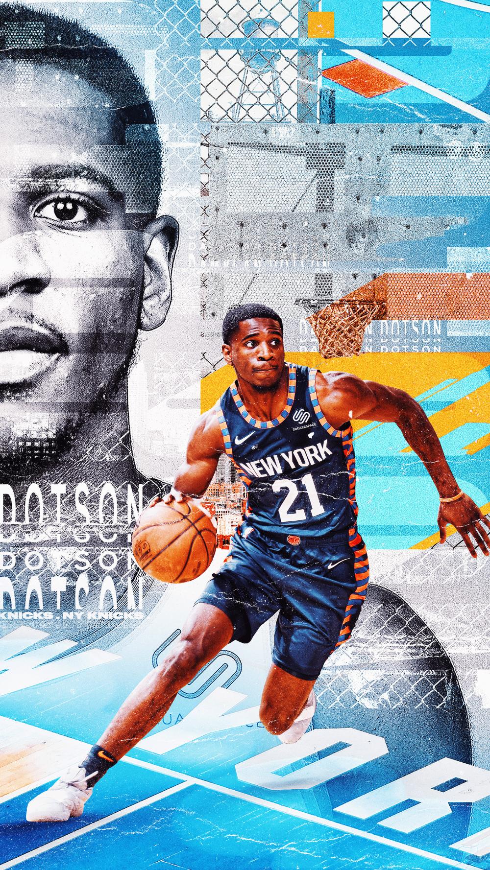 WallpaperWednesday New York Knicks on Behance en 2020