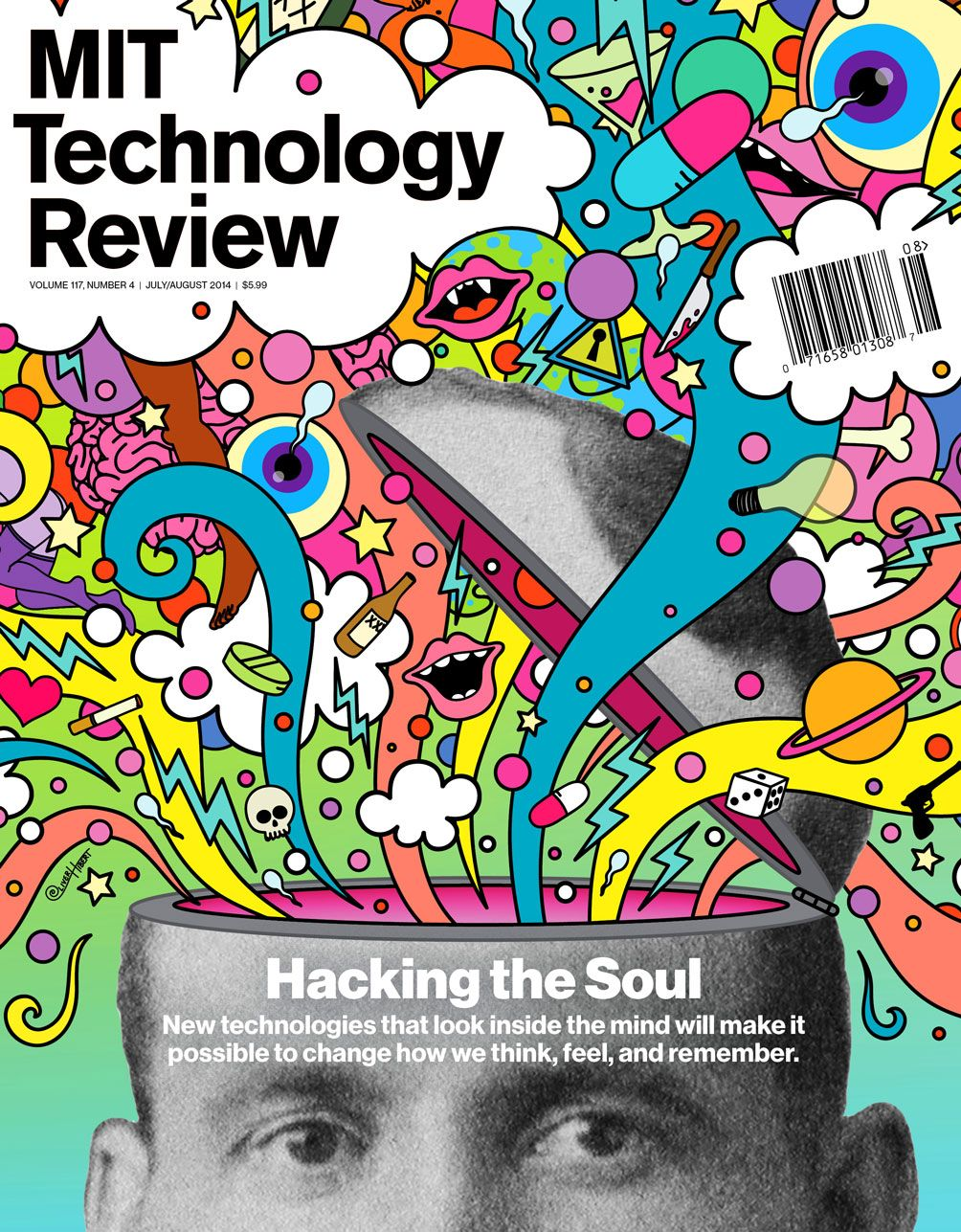 Mit Technology Review Volume 117 Number 4 July August 2014 Technology Review Book Cover Design Magazine Cover