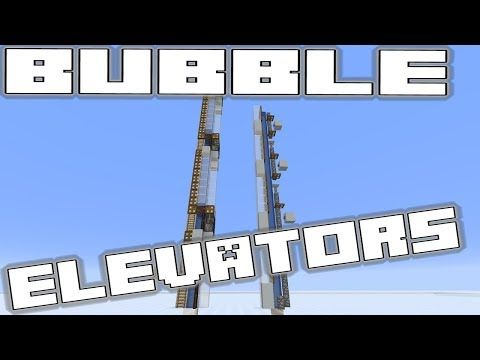 Minecraft Simple Elevator - Multifloor for Minecraft 1 13 Update
