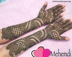 Easy Bridal Mehndi Patterns : Bridal mehndi designs dulhan mehandi images arabic