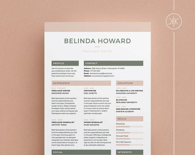 resumes that help you make a great first by