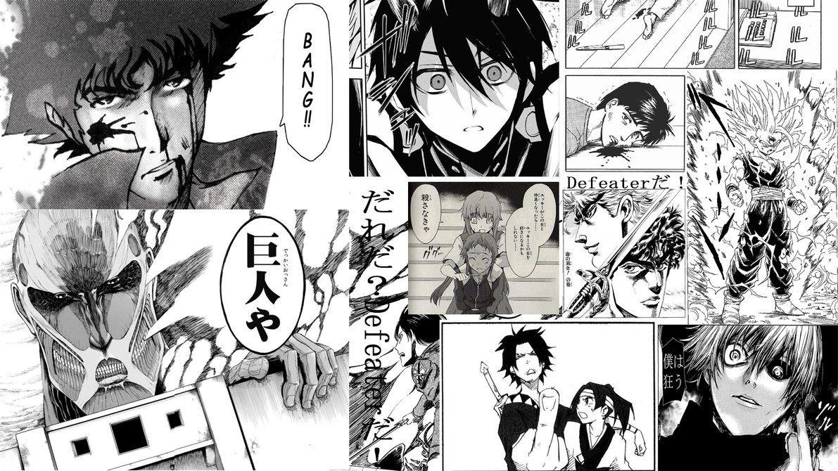 Manga Panels Wallpaper By Yuiyuukikirigaya Deviantart Com On Deviantart Manga Wallpaper Wallpaper Pictures