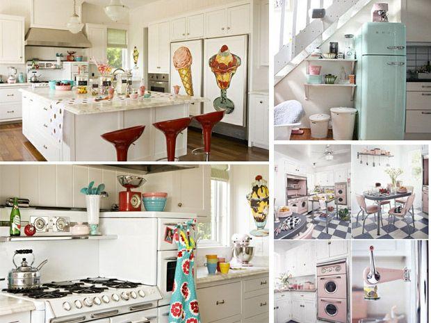 La cucina in stile anni 50 rubriche infoarredo for Accessori per arredare casa