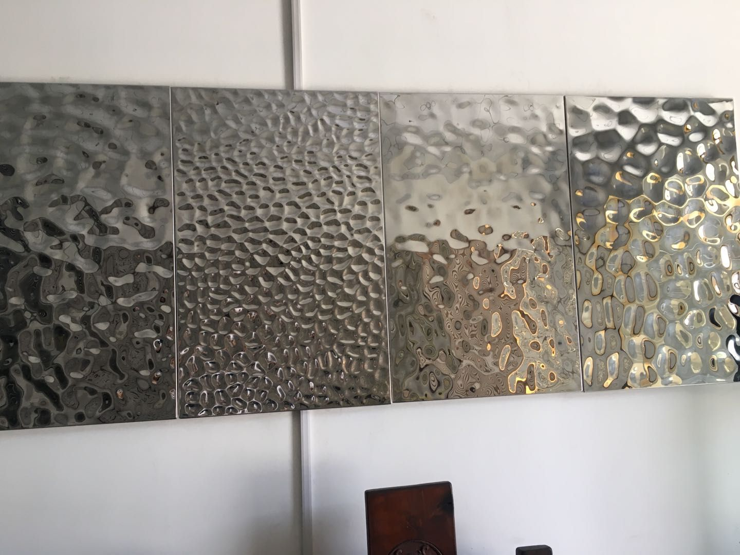 304 Stainless Steel Water Ripple Sheets Shanghai Yikai Metal Products Co Ltd Stainless Steel Art Water Ripples Stainless Steel Sheet
