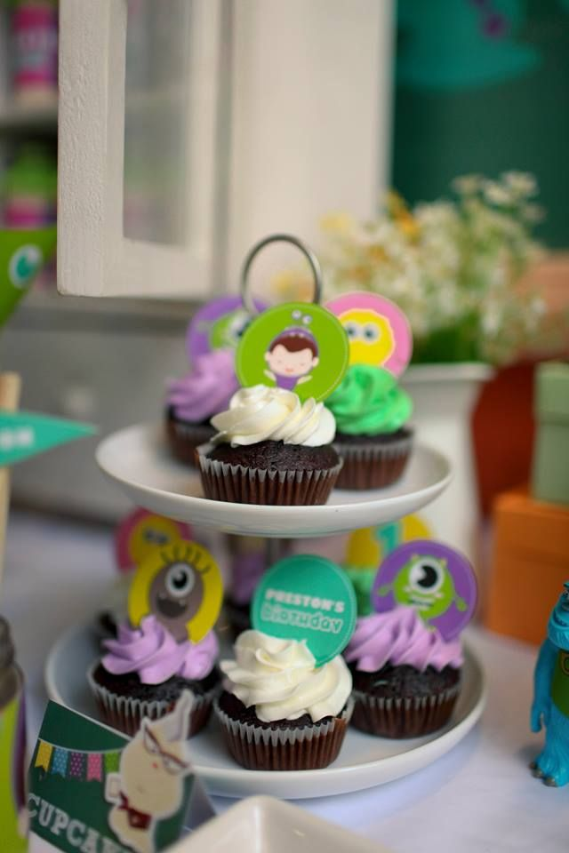 Preston's Monster's Inc. Party By Dreamflavours Celebrations