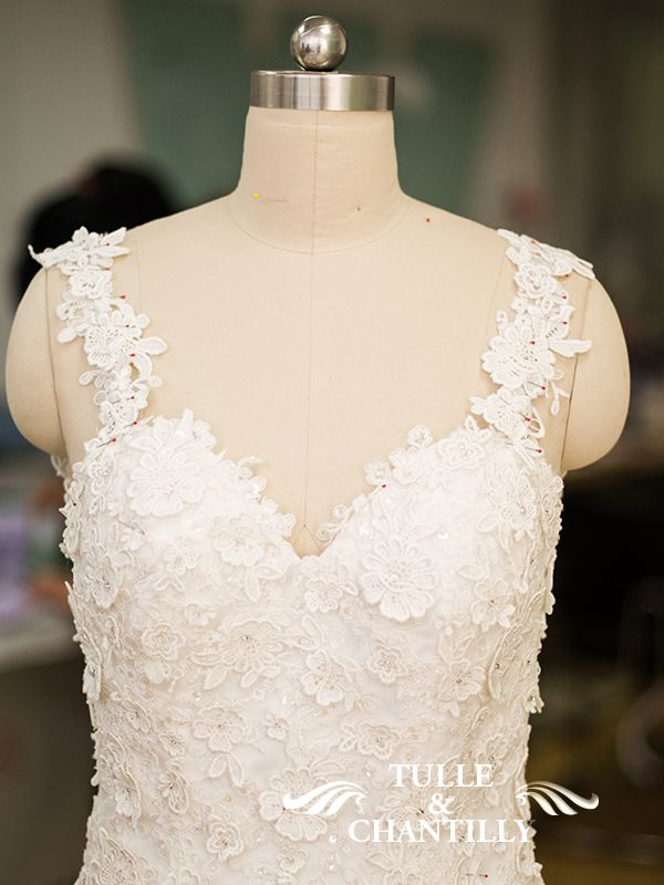 Design Your Own Wedding Dress} Delicate Customized Mermaid Long ...