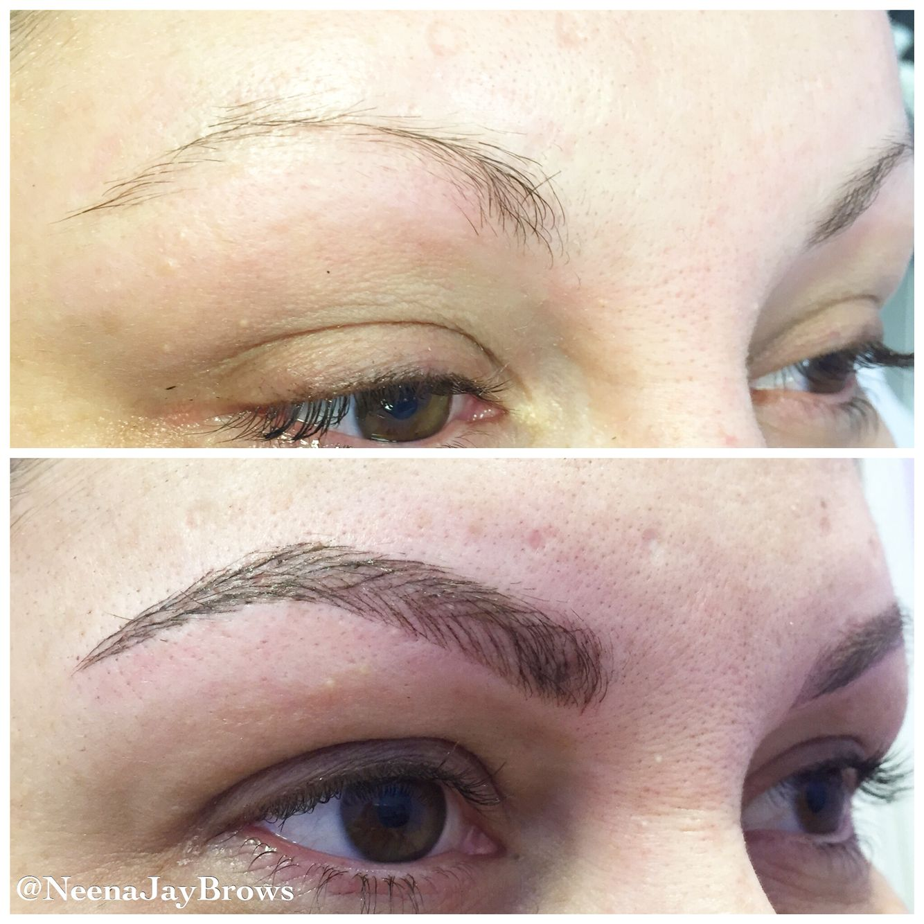 Before and after microblading microblading is a manual for Eyebrow tattoo microblading