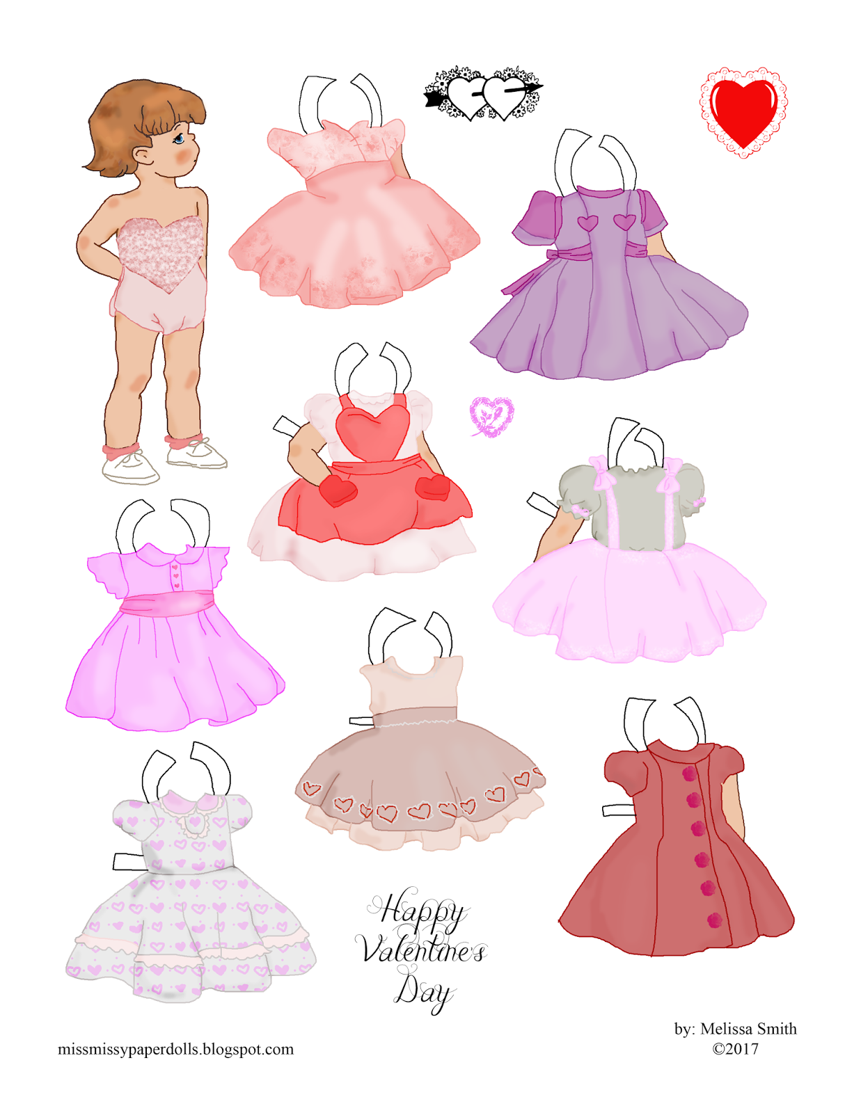 http://missmissypaperdolls.blogspot.com/2015/04/easter-doll.html   I used a base I've already used for an Easter doll in 2015 and edited i...