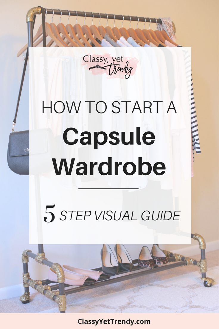 How To Start A Capsule Wardrobe: 5 Step Visual Guide ...