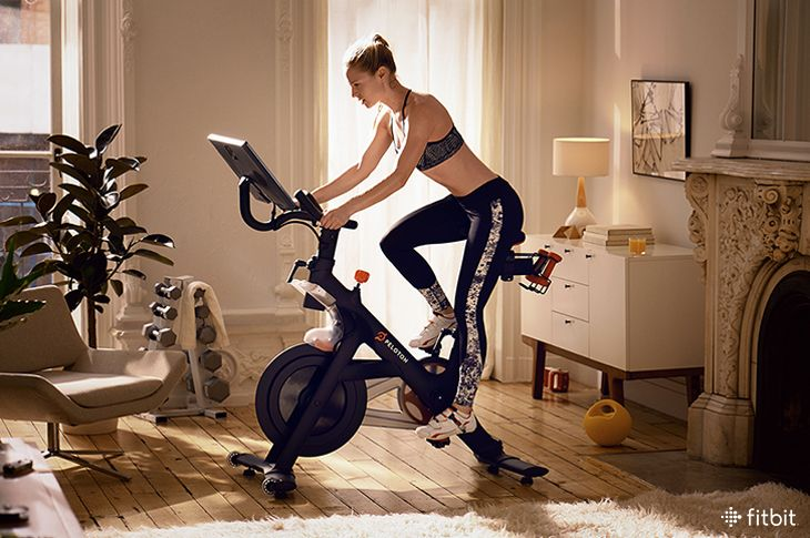 Get More From Your Indoor Cycling Session With These Insider Tips Fitbit Blog Best Exercise Bike Biking Workout Stationary Bike Workout