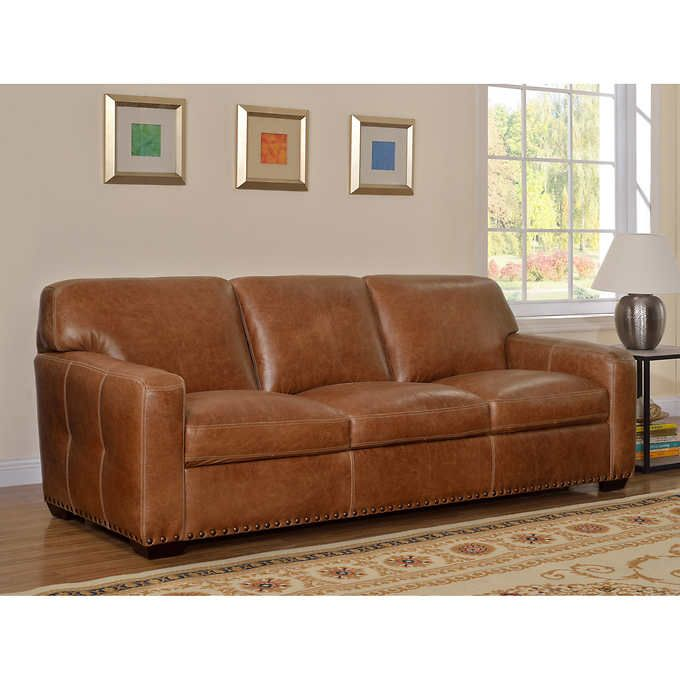 Tremendous Winslow 100 Top Grain Leather Sofa House Home Leather Gmtry Best Dining Table And Chair Ideas Images Gmtryco
