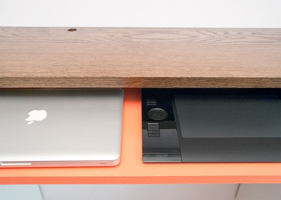 When It S Too Expensive Diy A Keyboard Tray Diy Diy Tray Desk With Keyboard Tray