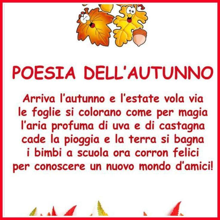 Préférence Risultati immagini per poesie autunno scuola primaria rodari  UP91