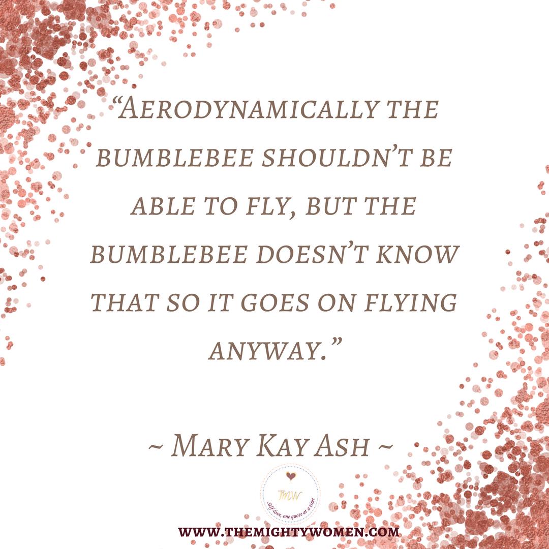 Themightywomen Marykay Selfesteem Quotes