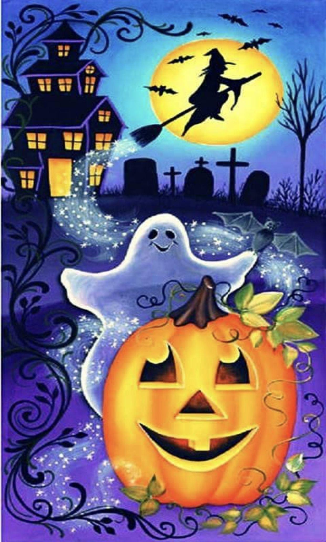 Pin By Renee Dipiazza On Stuff To Buy Halloween Canvas Halloween Painting Halloween Prints