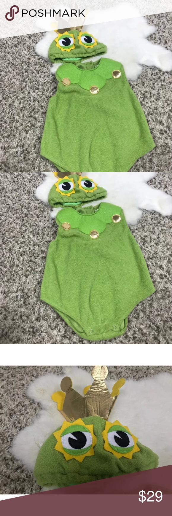 Pottery Barn Kids Boy Prince Frog Costume Sz 612M