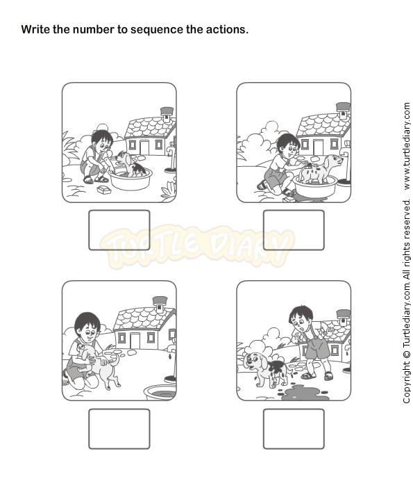 Picture Sequence Worksheet 18 eslefl Worksheets kindergarten – Kindergarten Sequencing Worksheet