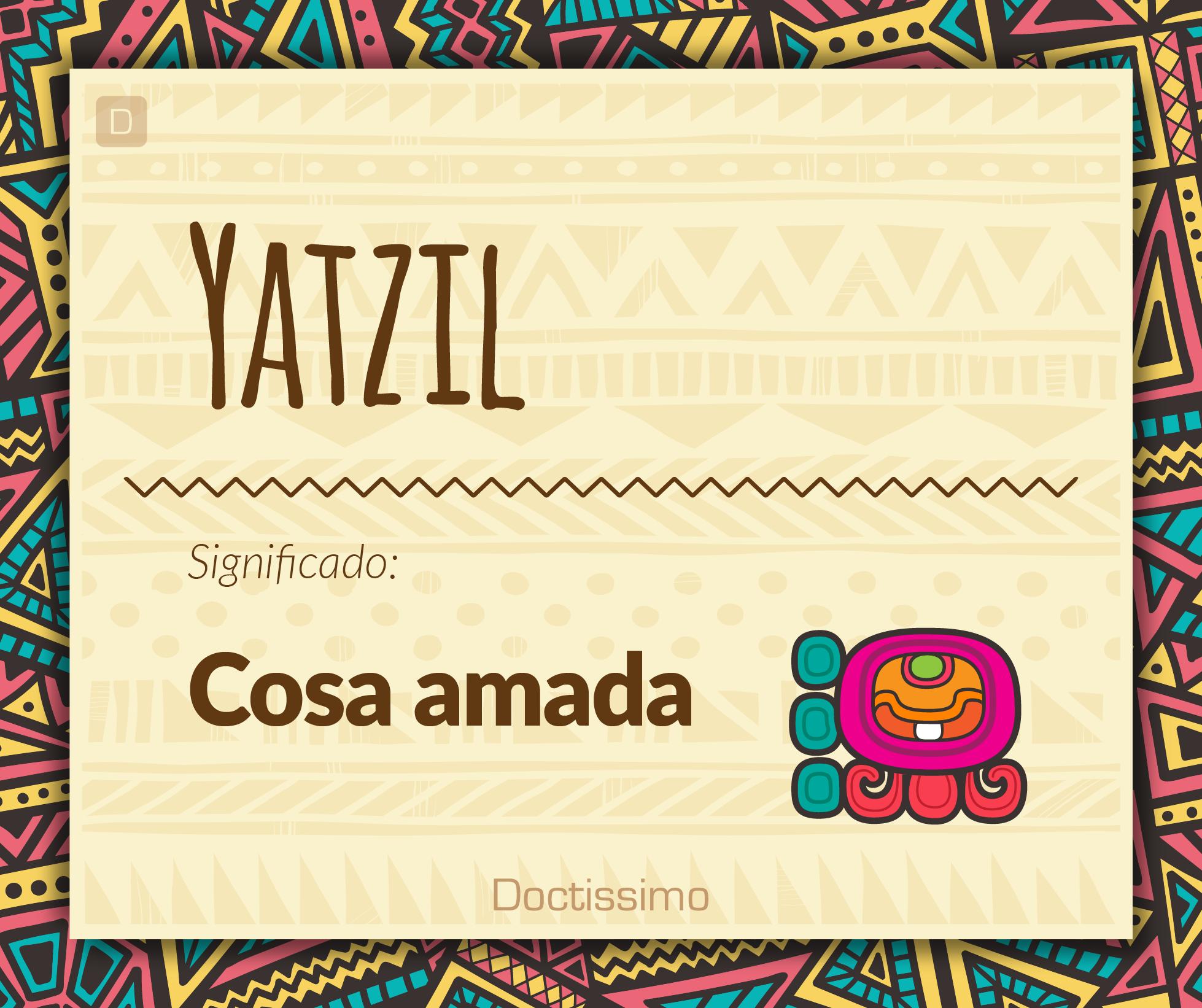 5729936ad Yatzil - Nombres para bebé - Doctissimo  nombresparabebes  nombresdebebes
