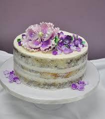 Resultado de imagem para naked cake blue