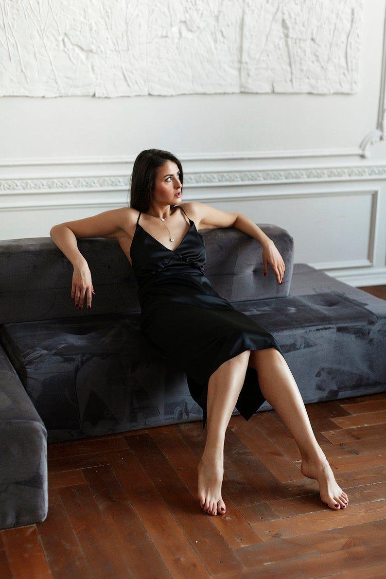 Silk Slip Dress Slip Dress Vanity Fair Nightgown Black Etsy Silk Slip Dress Slip Dress Night Gown [ 1191 x 794 Pixel ]