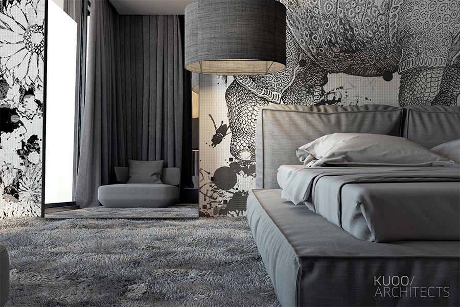 Łódź // Dom Jednorodzinny // 280 M2 | Kuoo Architects - Warszawa, Łódź
