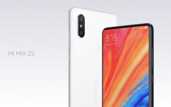 Xiaomi Mi Mix 2s is now official: Snapdragon 845 and a dual camera