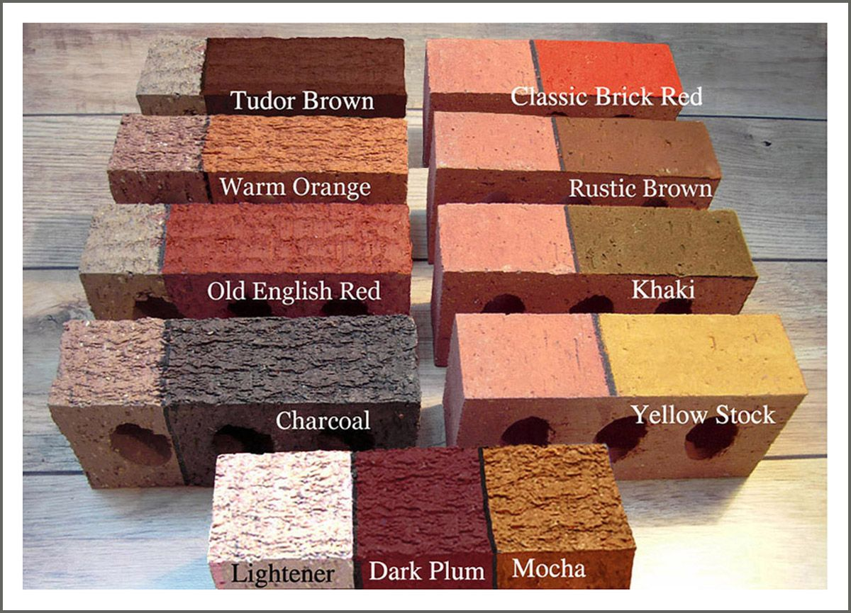 Brick Stain And Masonry Staining From Dyebrick Coloring The Color For