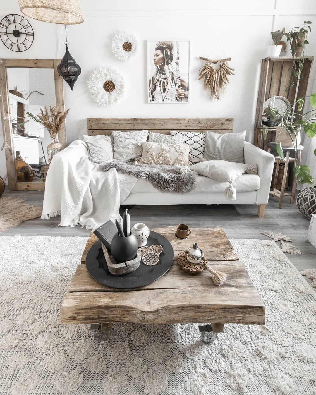 Rustic Scandiboho On Instagram Oh It Already Feels Like Summer Here In Finland I Was Just Interior Design Living Room Living Room Designs Boho Living Room