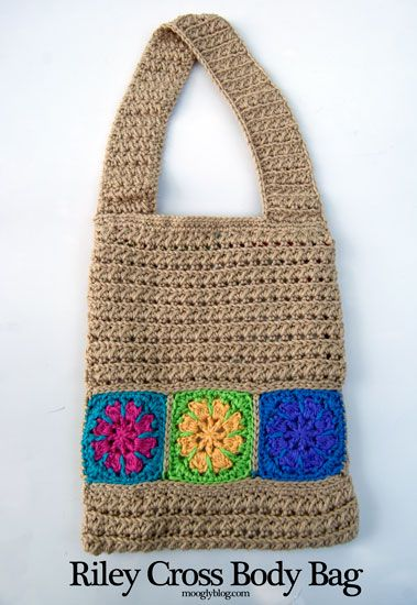 Free Pattern: Riley Cross Body Bag | Pinterest | Häkeltasche, Koffer ...