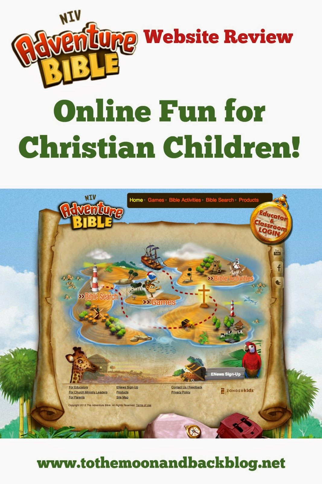 Online Games for Christian Kids {Adventure Bible Kids