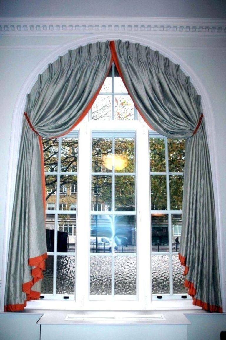 Awesome Curtain Design Ideas Curtains For Arched Windows Arched Window Treatments Arched Windows