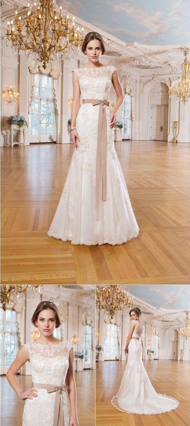 Fabulous Fishtail Wedding Dresses from Lillian West's