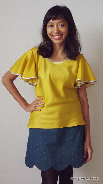 Taffy blouse and meringue skirt - skirt silk twill, dupioni, cotton pique, brocade, taffeta, poplin. top - chiffon, georgette, lawn, silk charmeuse