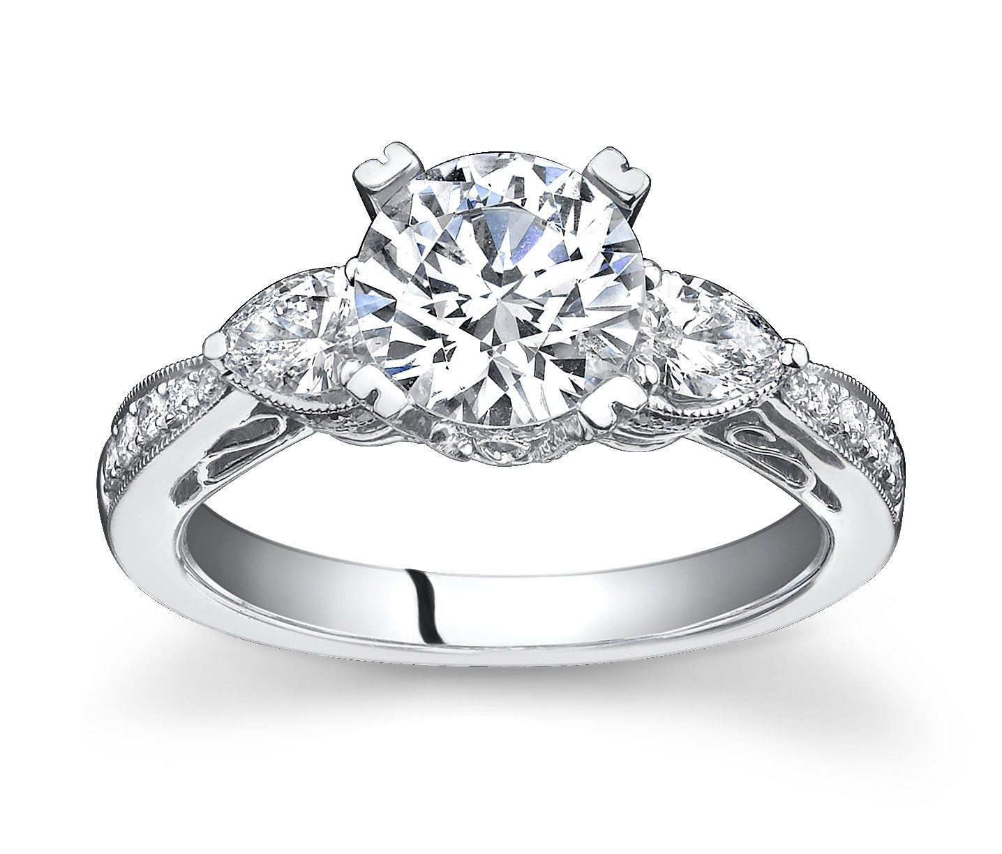 profile natalie rings w diamond faux engagement k platinum halo ring