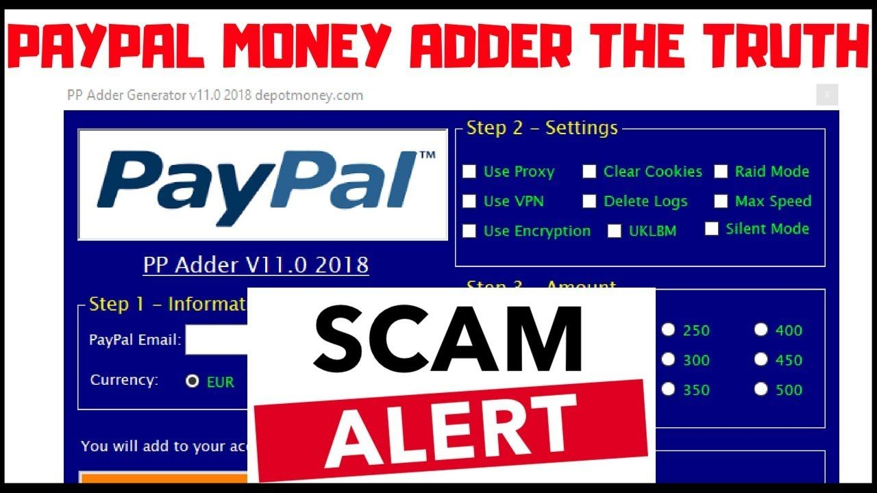 the truth behind paypal money adder stay away scam alert