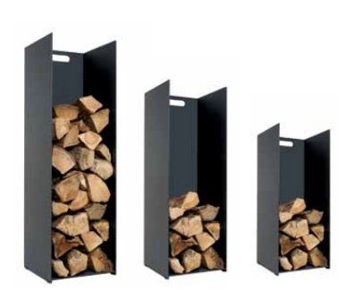 Stovax Steel Log holder In 3 Sizes/wood basket/ fireplace ...