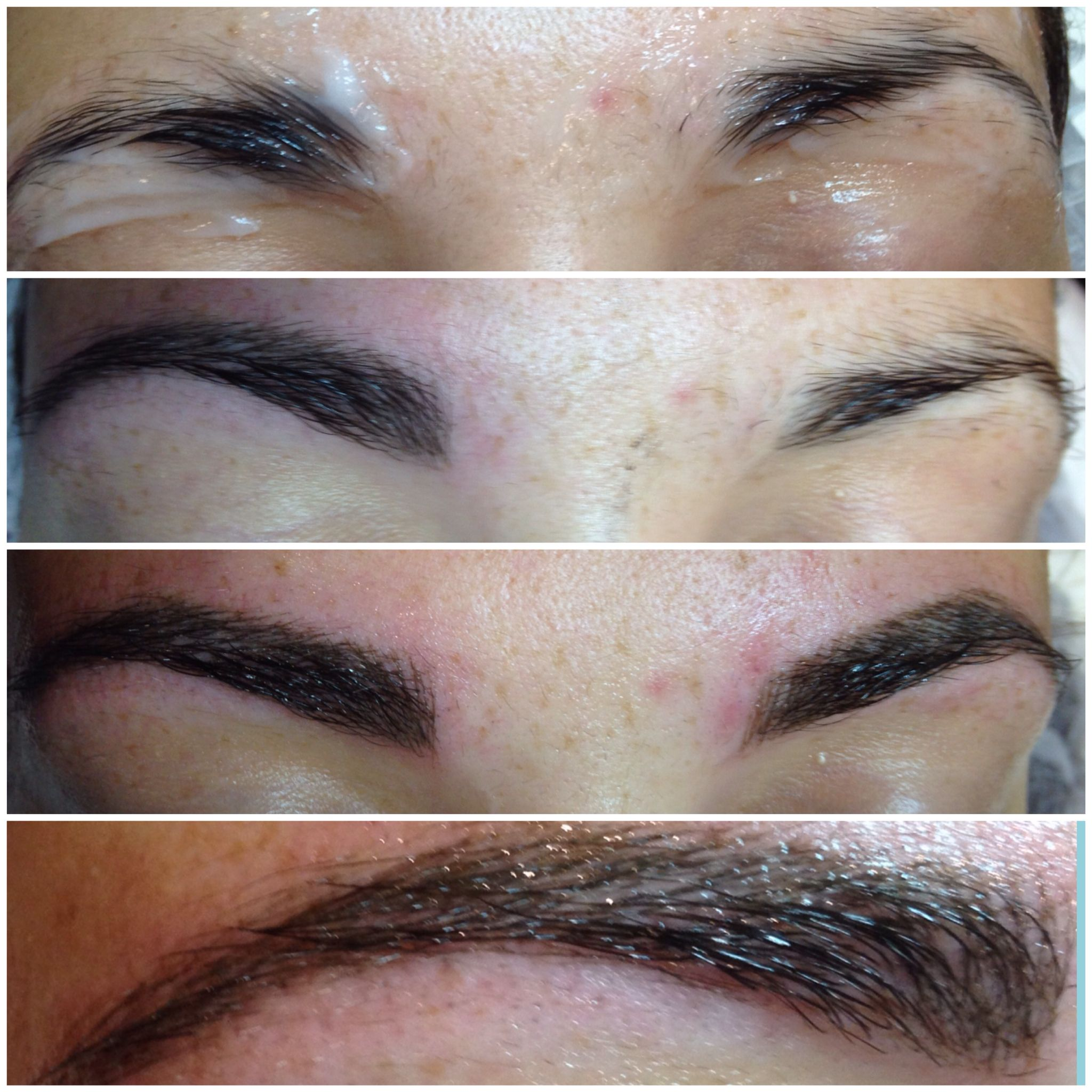 Before During And Aftermicroblade Softap Brows By Me
